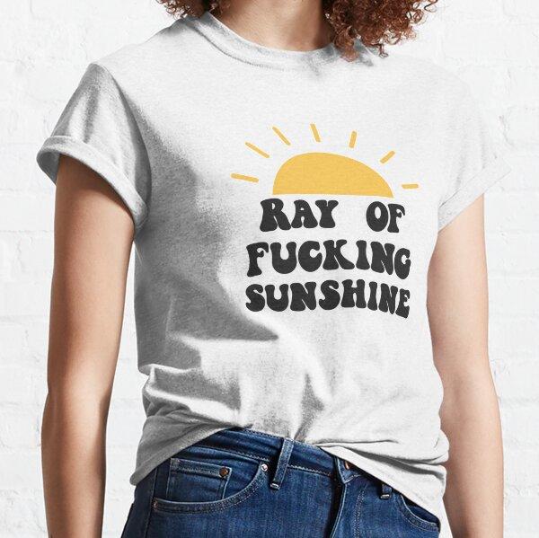Rayo de maldito sol Camiseta clásica