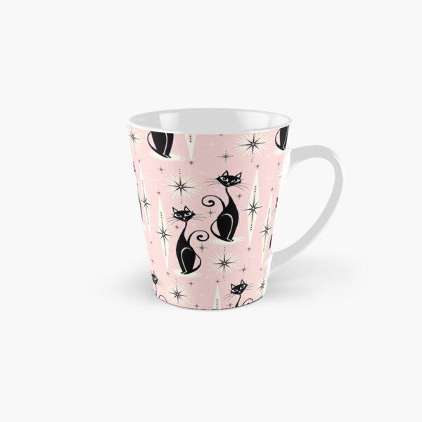 Mid Century Meow Retro Atomic Cats  Tall Mug