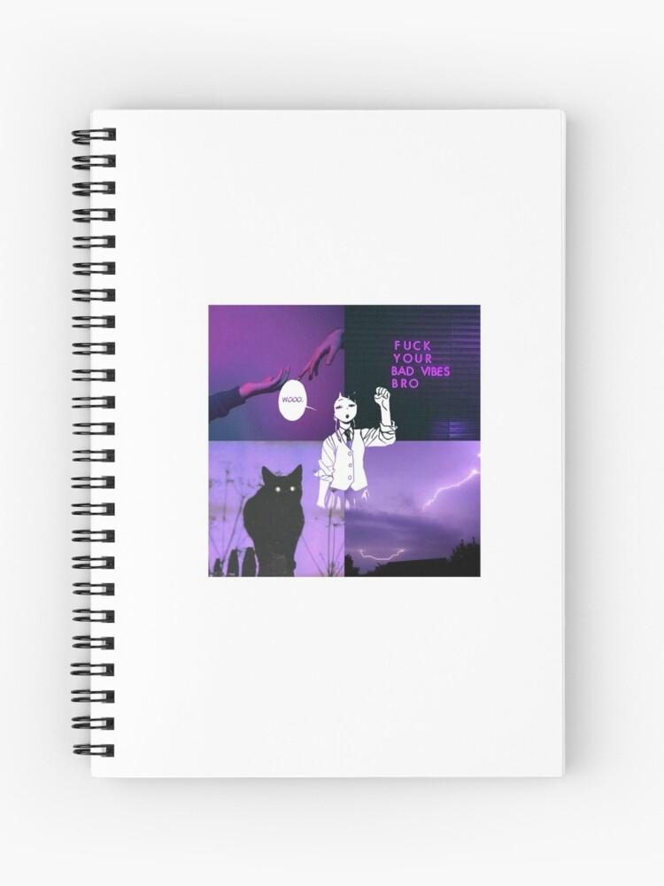 Aesthetic Jirou Kyoka Earphone Jack Spiral Notebook