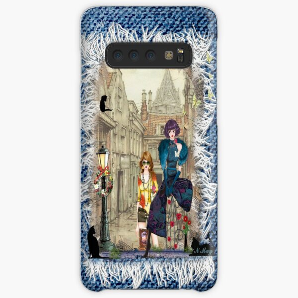High fashion in front of Anton Pieck's painting. Samsung Galaxy Snap Case