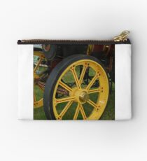 Traction Engine Front Wheel Studio Pouch