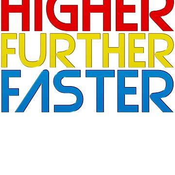 Höher weiter schneller von halfabubble