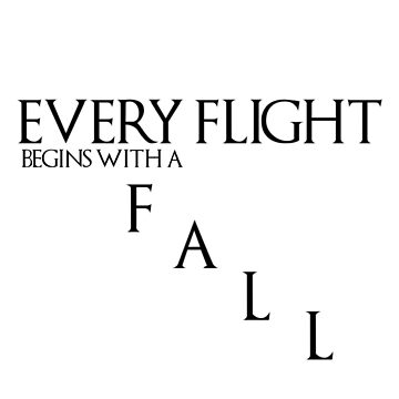 Flight and Fall by FoxGroves