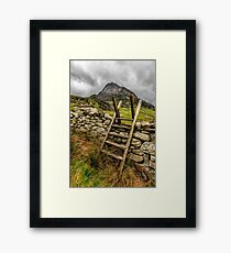 View Of Tryfan  Framed Print