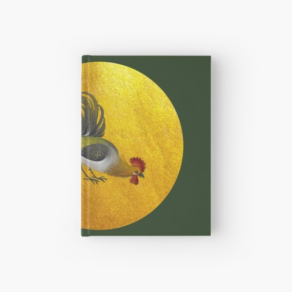 Rooster and sun  Hardcover Journal