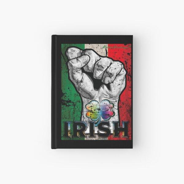 Irish Pride Apparel STRONG Irish! Fighting Irish! T-Shirt Hardcover Journal