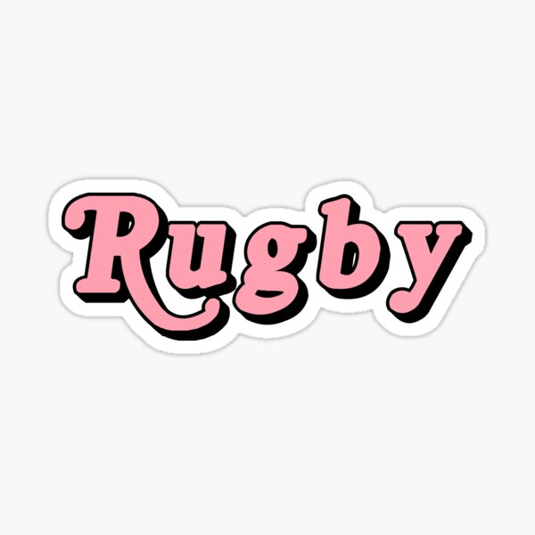 Le rugby Sticker