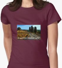 I Love Tuscany Womens Fitted T-Shirt