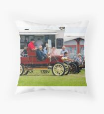 on your marks..... Throw Pillow
