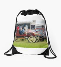 on your marks..... Drawstring Bag