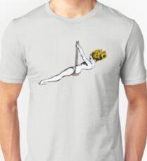 Girl swinging - Street art T-Shirt
