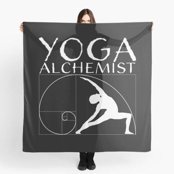 Yoga alchemist and the golden ratio Scarf