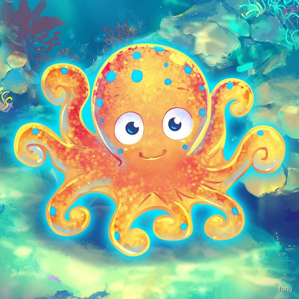 Cute Octopus by fany