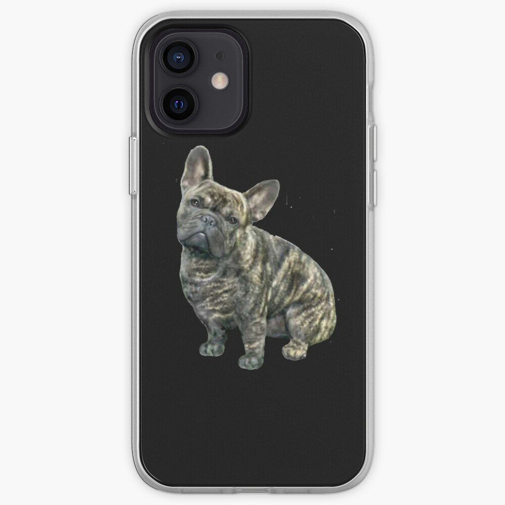 French Bulldog - brindle iPhone Case & Cover