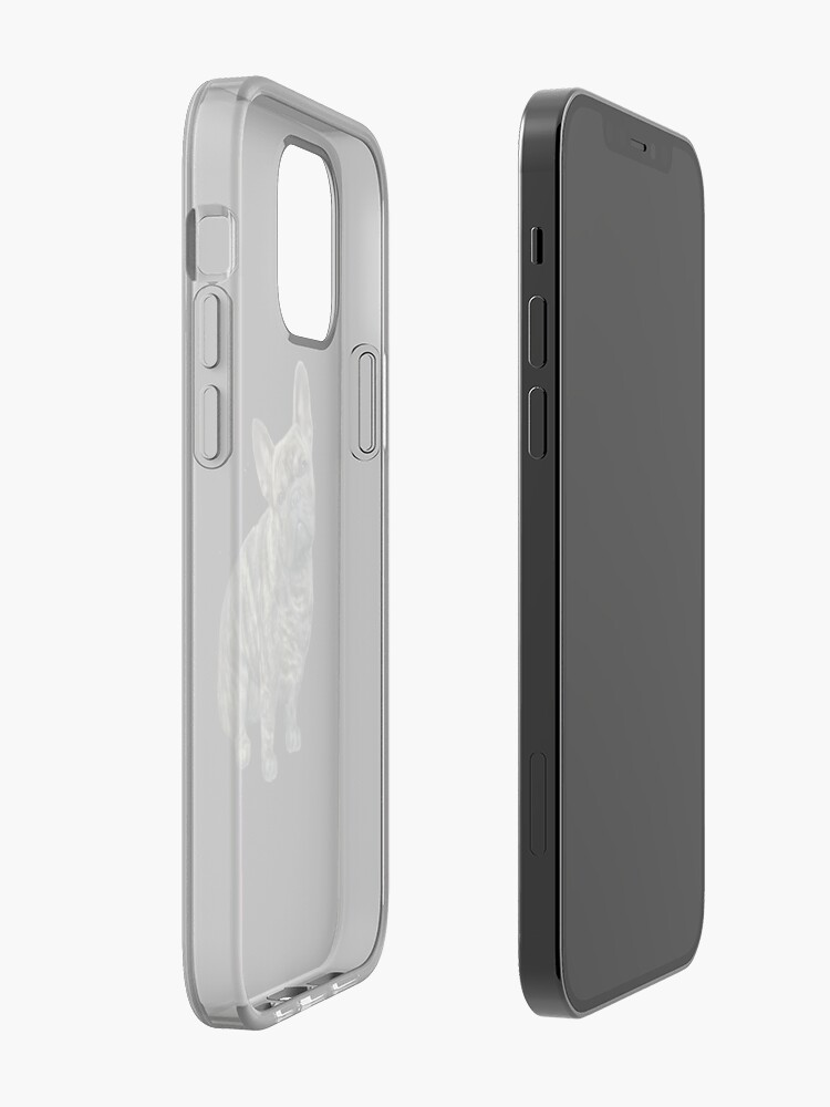 Alternate view of French Bulldog - brindle iPhone Case & Cover