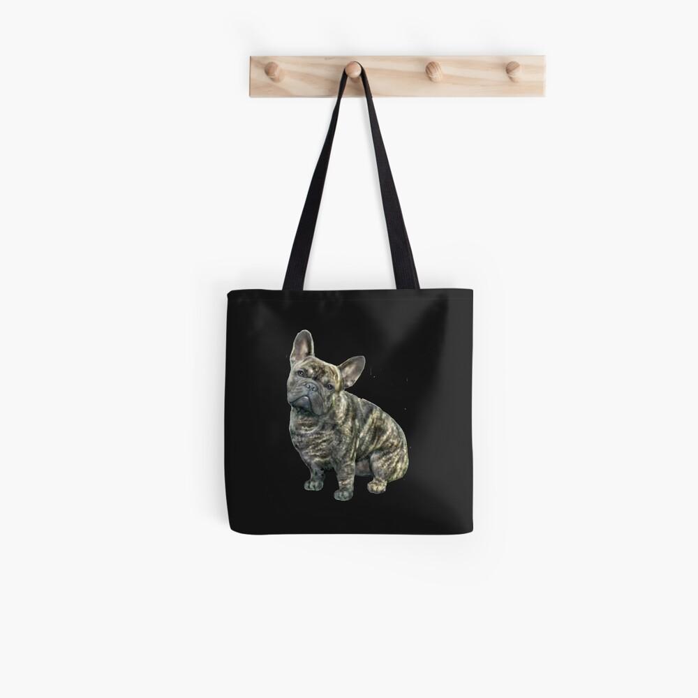 French Bulldog - brindle Tote Bag