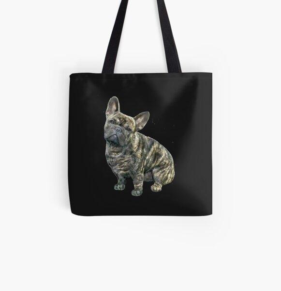 French Bulldog - brindle All Over Print Tote Bag