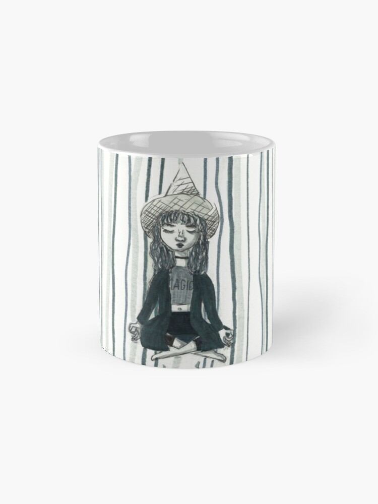 Alternate view of Aesthetic Witch Mugs