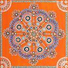 Cleanse Mandala  by FRANKEY CRAIG