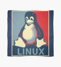 Linux tux penguin obama poster Scarf