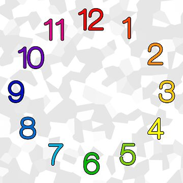 ADHD, Autism Spectrum, Dyslexia, Synaesthesia Clock by hamsters