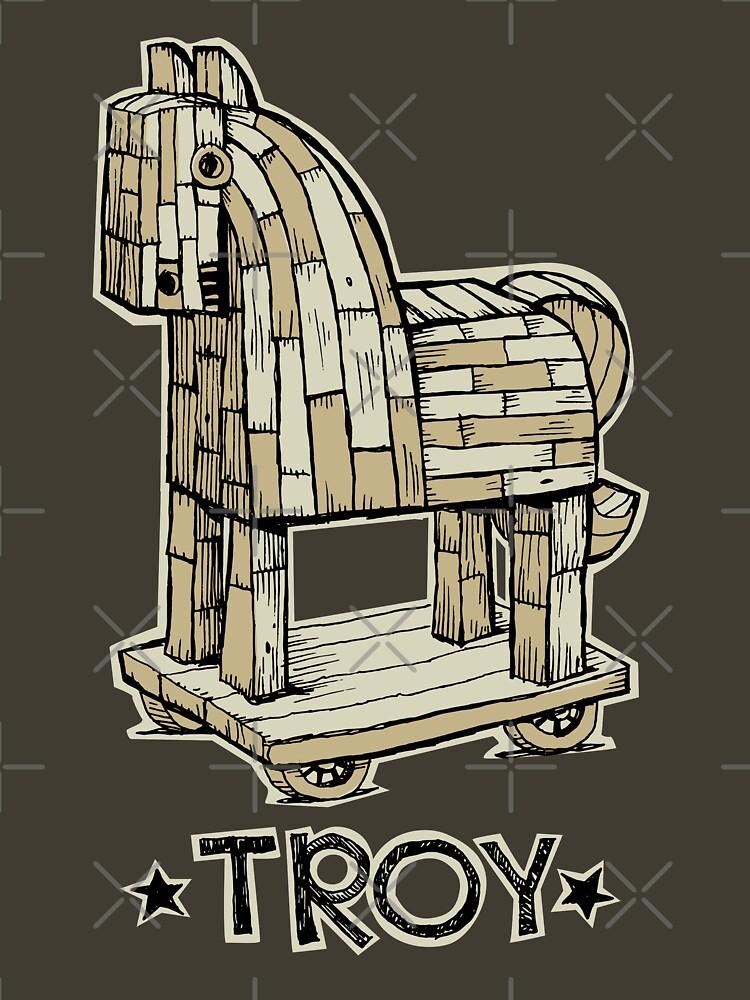 Troy Horse by duxpavlic