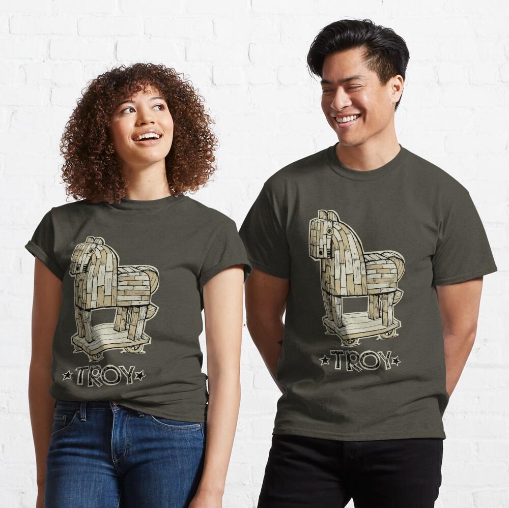 Troy Horse Classic T-Shirt