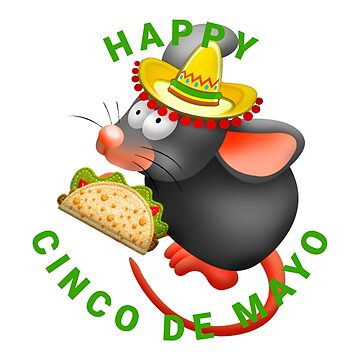 cinco de mayo rat by gossiprag