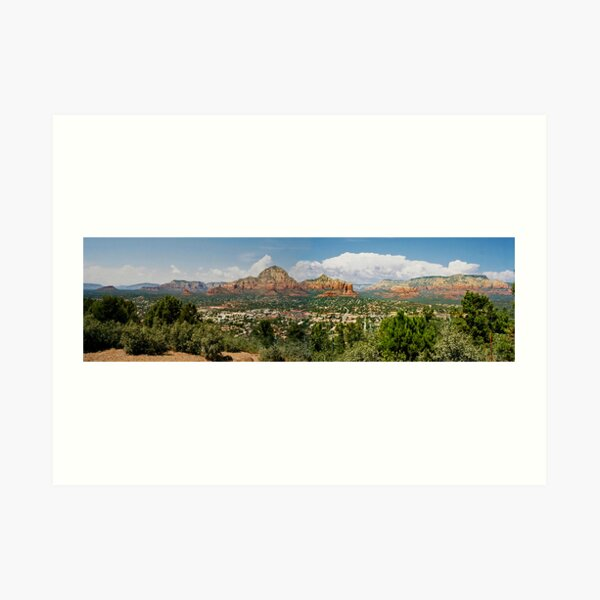 Sedona Panorama Art Print