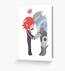 Mass Effect - Shakarian [Shirts, Prints, & Sticker] Greeting Card