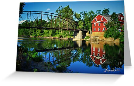 War Eagle Mill and Bridge by Gregory Ballos