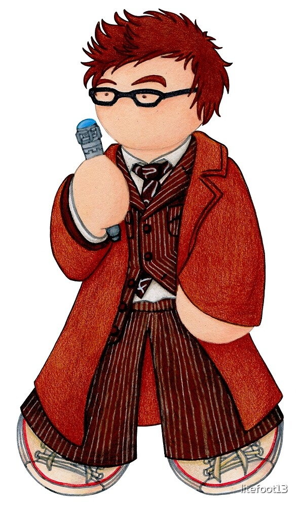 Plushie 10th Doctor by Kimberly Weatherston