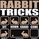 Stubborn Rabbit Tricks design by Vroomie