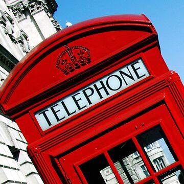 London telephone box by SarahTrangmar