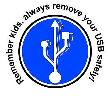 Entfernen Sie USB von Nargren