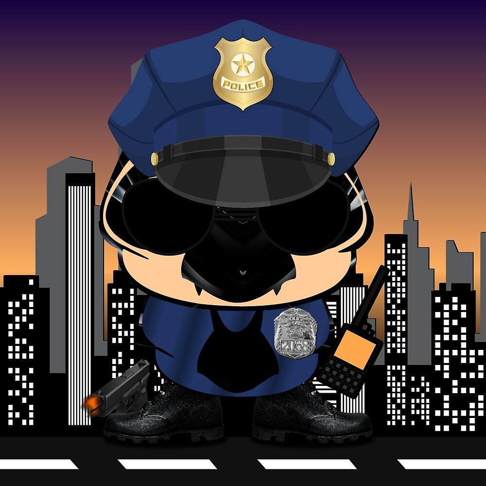 Simon - The Little Police In New York City by Diogo Cardoso