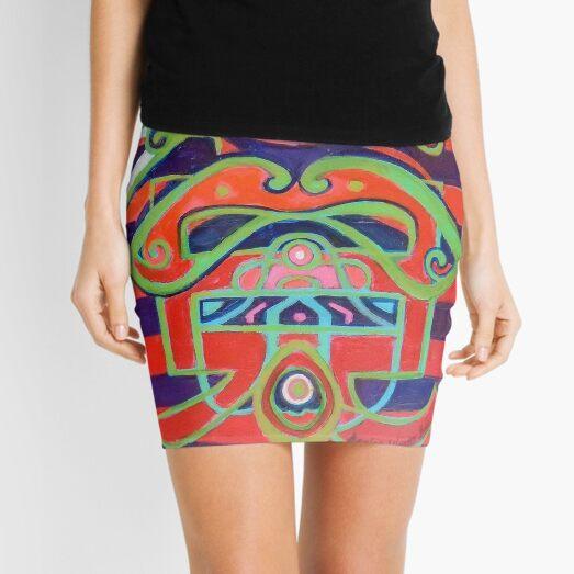Hexagram 14: Ta Yu (Wealth) Mini Skirt