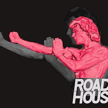 Road House V2 Swayze Movie T-Shirt by bestofbad