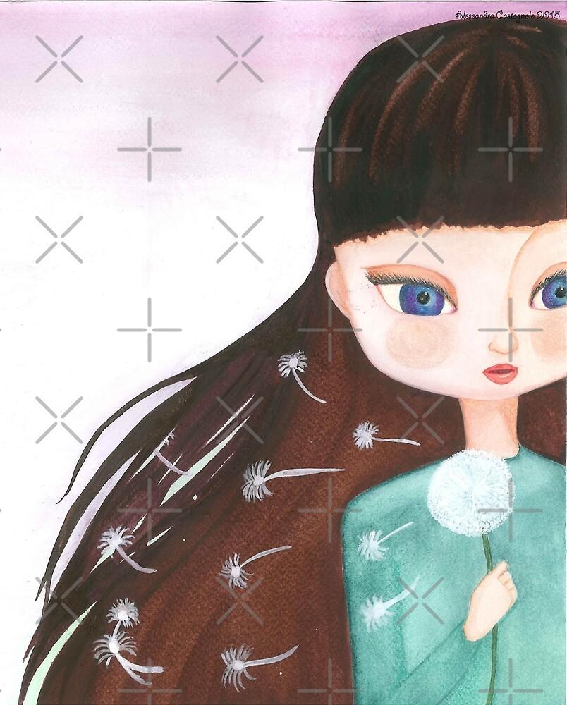The dream girl by Onyria Art