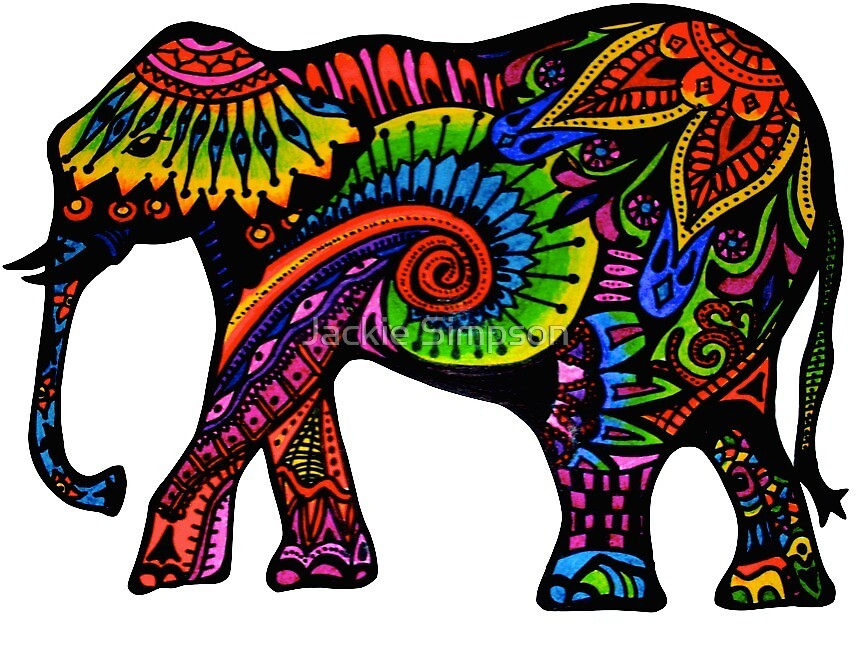 Indian Elephant  by Jacqueline Simpson