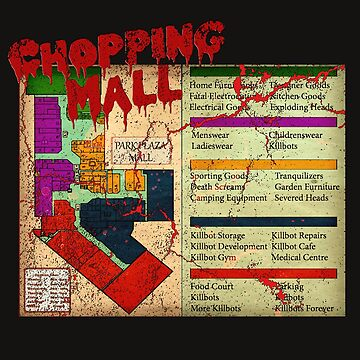 Chopping Mall V2 Horror Movie T-shirt by bestofbad