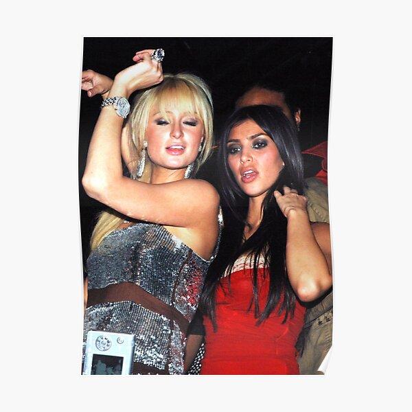 Paris Hilton and Kim Kardashian Poster