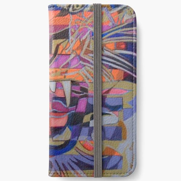 Hexagram 21-Shih Ho (Biting Through) iPhone Wallet