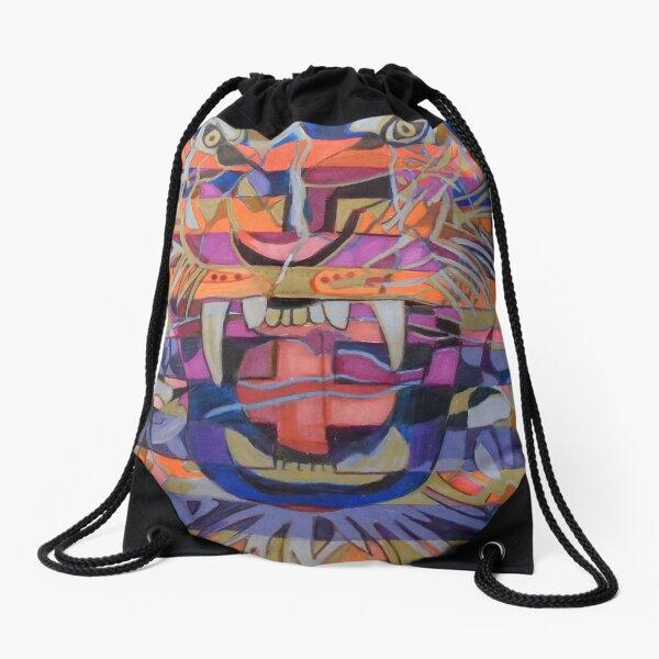 Hexagram 21-Shih Ho (Biting Through) Drawstring Bag