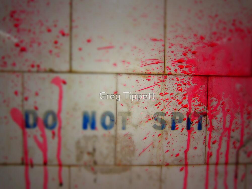 Don't Spit by Greg Tippett
