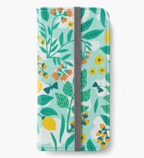 Lemony Garden iPhone Wallet/Case/Skin