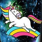 Space Flying Unicorn Flip by Vroomie