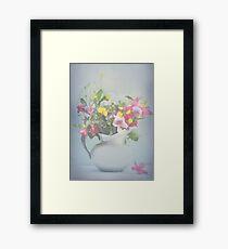 Spring Joy Bouquet Framed Print