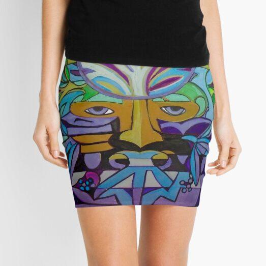 Hexagram 24: Fu (Turning Point) Mini Skirt
