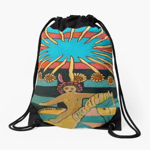 Hexagram 35: Jìn (Rising)  Drawstring Bag